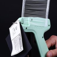 Tag Gun Clothes Garment Price Label Tagging 1000pcs Barbs 5pcs Needles Set Machine Marking DIY Apparel Guns Sewing Craft