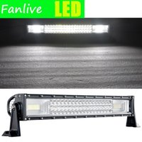 10pcs Light LED Light Bar 22 34 42 50 pollici TRI-Fiw 12V 24V Auto LED Bar per camion Jeep Tractor Automobile Offroad 4WD 4x4 SUV