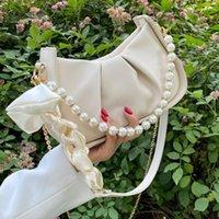 Evening Bags 2021 Sac De Luxe Femme Pearl Shoulder Chain Designer Handbag Classic Tote Bag Retro Bolsa Feminina Fashion For Women