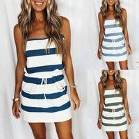 Casual Dresses Ruffles Loose V-Neck Dress Women Summer Sleeveless Floral Print Woman Plus Size 2021 Fashion White Beach