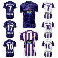 2021 2022 Fútbol Real Valladolid Jersey 7 de Sousa 9 Weissman 12 Orellana 10 Oscar Plano 11 Hervias 16 Aguado 19 Villa 24 Joaquin 17 Javi Moyano Football Shirt Kits