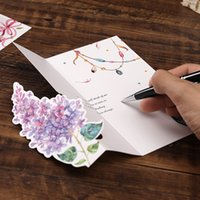 birthday card Mother's Day Thanksgiving Greeting Cards Exquisite three-dimensional printing paper Korean creativity bouquet Wish to thank wmq1048