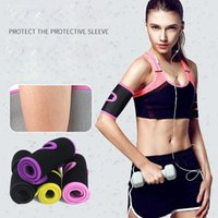 Sports Gloves 1 PC Yoga Arm Warmers Slimmer Sleeve Trimmers Wraps Women Men Cycling Gym Fitness Running Band Slimming Arms Body Shapers