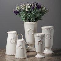 Vases Modern Minimalist Art Ceramic Vase Decoration Living Room Table Hydroponic Flower Arrangement Home Accessories