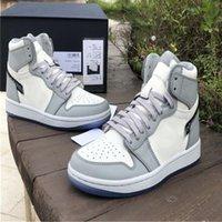 Spezielle Trainer Qualität 1 1S Edition Luxus Sneakers Name Top Schuhe Herren Womens Mode Luxurys Designer Full 36-47.5 Basketball Jum uske