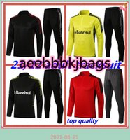 21 22 22 Brasil Internacional Guerrero Adulto Futebol Tracksuit Long Zipper Jacket 2021 2022 Flamenco São Paulo Man Football Training Suit Set