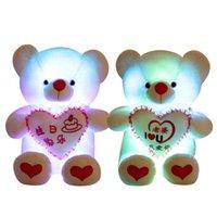 Stuufelte Plüsch Tiere körperliche ShootingPlush Teddy Große Kuschelbär Leuchttuch Prent Puppe Mädchen