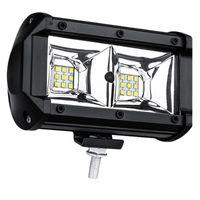 Working Light 1Pc 54W Automobile LED Bar Hood Bonnet Work Durable Flood Offroad Lamp For Wheel Loader T