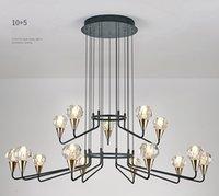 Modern LED chandelier Luxury Crystal Lights Nordic Living Room Dining Bedroom Hanging Lamp luminiare Loft Decor Lighting Fixture