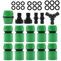 "Garden Watering Hose ABS Quick Connector 1 2"" End Double Male Coupling Joint Adapter Extender Set For Pipe Tube Equipments"