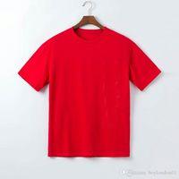2021 Famous Luxury Mens T Shirt Polos Fashion Casual Short Sleeve Men Women Stylist Letter Print Tees brand