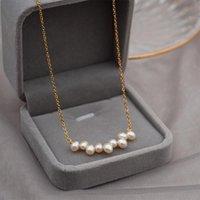 Lexie Diary 2021 Мода творческий натуральный пресноводный жемчуг ожерелье для женщин аксессуар ювелирных изделий кулон ожерелья