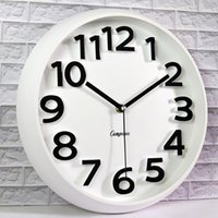 Wall Clocks Vintage Retro Clock Modern Design Digital Silent Mechanism Watches Relogio Parede Kitchen Guess Women 50Q216