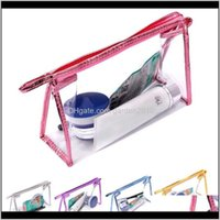 Bags Clear Makeup Transparent Plastic Pvc Cosmetic Make Up Toiletry Bag Storage Zipper Pouch Beauty Wb2034 Xpggu Wsvjc