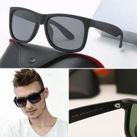 2021 hombres mujeres gafas de sol de primera calidad Marca 4165 Fábrica Original Polarizadas Real Nylon Frame UV400 Gafas de sol para mujer