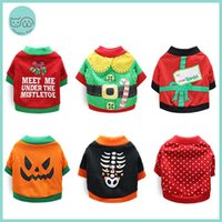 Dog Apparel Pet Cat Halloween Costume Christmas Holidays Clothes Winter Clothing Sweater For Small Dogs Puppy Chihuahua