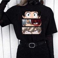 Erkek T-Shirt Japon Anime Benim Kahraman Academia Moda T Gömlek Kadın Erkek Boku Yok Manga T-shirt Bakugou Himiko Toga Grafik Tees