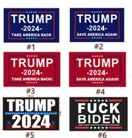 Trump Flag 2024 Election Banner Donald Take America Back Sav...