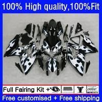 Suzuki GSXR-750 750CC GSXR750 GSXR600 08 09 10 KIT 22NO.53 GSXR 600 750 CC 600CCシルバーフレームK8 08-10 GSXR-600 GSX-R600 2008 2009 2009 2010 OEMフェアリング