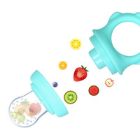 Baby Food Fresh Fruit Vegetable Feeder Silicone Pacifier Teether Teething Toy Nipple for Infant Toddler Kid Easy to Clean