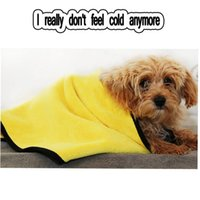 Baño de toalla de mascotas Toalla absorbente de toalla suave sin pelusa, gatos, gatos, toallas de baño, absorbente y secado rápido, grande, grueso, grueso, mascota especial.