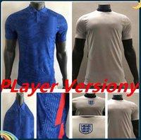 Player version KANE Soccer Jerseys 20 21 Away Blue STERLING DELE RASHFORD Shirt SANCHO ROSE MOUNT football uniform