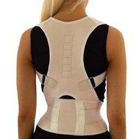 Sitzen Haltung Korrektur Einstellbare Magnetform Body Schulterstütze Gürtel Männer und Frauen Rückenwirbel Korrektur Therapie EDF-Unterstützung