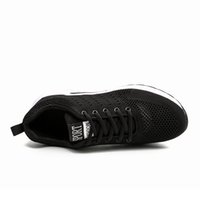 Высокое качество моды мужские женские подушки подушки кроссовки дышащих дизайнер черный синий серый кроссовки тренеров Sports Size 39-45 W-1713