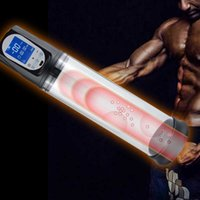 Multimode anahtarlama elektrikli penis büyütme kalınlaşma seks oyuncak LCD ekran erkek masturbator penis pompası ereksiyon x0727 ile yardımcı olur