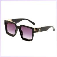 선글라스 남성 여성 디자이너 선글라스 2021 안경 패션 안경 망 Luxurys 선글라스 여성 안경 UV 증거 고글 2105191L
