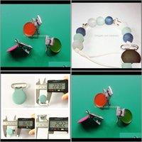 Emzikler # Chenkai 1 '' 25mm Yuvarlak Metal Jartiyer ONLAR Tutucu DIY Bebek Duş Kukla Emzik Zincir Klipler Oyuncak Kurşun 21 Renkler V4TDY L1NG9