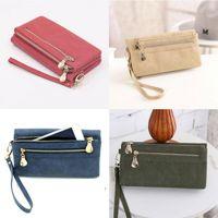 Wallets Womens Ladies Long Wallet Clutch Purses Leather Handbag Wristlet Bag Card Holder