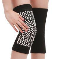 2 pcs auto aquecimento suporte joelho almofadas knee brace aquecer para artrite alívio da dor nas articulações e lesão cinto de recuperação do knee massager o pé 389 z2