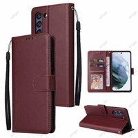 Brieftasche PU Leathe Telefonfälle mit Kartensteckplatz Fotorahmenständer für Samsung Galaxy J8 J7 J6 J5 J4 J3 J2 PRIME A9 A8 A7 A6 Plus Fallabdeckung