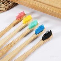 Cepillo de dientes Protección de dientes Pelo suave Bambú Cepillo de dientes esbelto Viaje Disponible Cepillo de dientes Suministros de hotel T500706