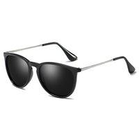 エリカデザイナーサングラス用女性偏光UV400ミラーシェード男性USA FBA倉庫高速配達