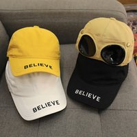Children's Hat Spring Baby Cap Thin Boy's Goggles Summer Sunshade Girl Handsome Trend Personality