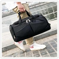 Duffel Bags Waterproof Travel Bag With Shoulder Strap Tote Carry On Hanging Suitcase Clothing Business Handbag Lightweight Multi Cells