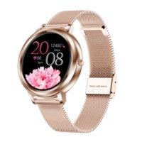 MK20 Smart Watch 2021 Pantalla táctil completa 39mm de diámetro Mujer Smartwatch para damas y niñas compatible con Android y iOS