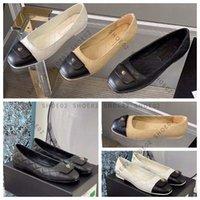디자이너 고전 여성 플랫 신발 드레스 신발 패션 로퍼 레이디 정품 가죽 럭셔리 고품질 크기 35-40 Shoe02 01