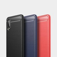 Luxury Carbon Fiber Soft TPU Cases For Iphone 13 Pro max 12 mini 11 xr xs x 8 7 6 se Brushed Brush Vertical Ultra thin Flexible Slim Smart Mobile Phone Back Covers