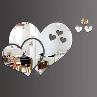 Wall Stickers Love Heart Shaped Wall Sticker 3D Home Furnishing Art Decorate Stickers DIY Room Decor Valentine Day 2 2 9OK1