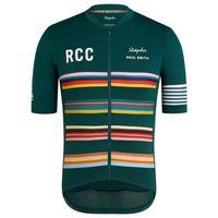 Raphaing 2021 فريق RCC فريق الرجال الدراجات الفانيلة قصيرة الأكمام الدراجة القمصان دراجة جاريسي الدراجات الملابس ارتداء روبا مايلوت ciclismo