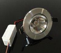 10 Вт светодиодный утопленный потолочный прожектор Dimmable 800LM AC85-265V 60 Угол Угол Посылка Свет + Драйверные светильники