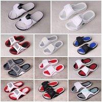 Designer- 13 13s Hydro Slides Pantofole Hydro IV 4 4s Slides Sandali neri Jumpman 11 11s Blu Nero Bianco Bianco Rosso Pallacanestro Scarpe Casual Sport