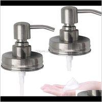 Bomba de espuma de cetim de alta qualidade líquida de alta qualidade DIY Mason Jar Soap Dispenser Distribuidor Replacements óleo esfregado Bronze Bronze Antique Bronze B Yrbme
