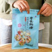 Snack Food Words Torkad fruktmutter Specialy Universal Ziplock Bag Candy Förpackning Zipper Väskor