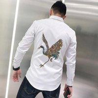 Herbst Herbst T-SShirt Weiche Stoff Formale Jugend Revers Business Night Workwear Diamant Stil Langarm Lässige Hemden