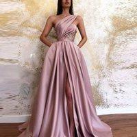 2021 Горячие Сплит Вечерние платья Платья погруженные декольте Crystal Prom Prom Progerts Custom Made Tulle Вечерняя вечеринка Prom Prom Prom Обратитесь