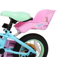 Bike Saddles DRBIKE Bambini Sedile Post Bambola con supporto per bambini Decorati Adesivi Bicicletta per bambini